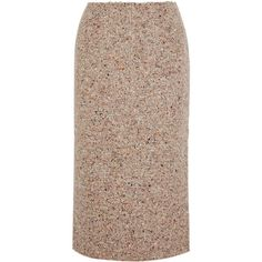 Acne Studios Fenel Trash wool-blend tweed midi skirt ($515) ❤ liked on Polyvore featuring skirts, acne, neutral, acne studios, mid-calf skirt, colorful midi skirts, multi color skirt and brown skirt