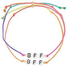 Venessa Arizaga 'BFF' bracelet (1,070 MXN) ❤ liked on Polyvore featuring jewelry, bracelets, gold, tri color jewelry, venessa arizaga, multi colored jewelry, colorful bangles and multicolor jewelry