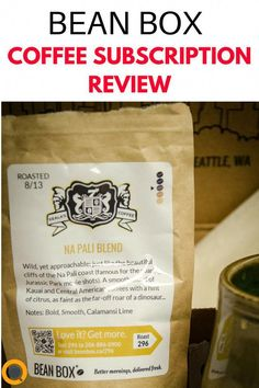 Bean Box selects from among Seattle's (and Portland's) thousands of gourmet, small-batch roasters to send you the best coffee beans you can find in the Pacific Northwest. Their coffee subscription box helps you explore new flavors through fresh roasts tha Kona Coffee, Espresso Coffee, Coffee Love, Best Coffee, Coffee Cup, Coffee Pot Cleaning, Coffee Aroma, Coffee Subscription, Fair Trade Coffee