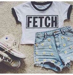 So fetch ! Summer outfit