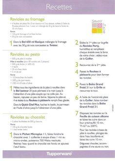 Tupperware Pressure Cooker, Tupperware Recipes, Food And Drink, Chartreuse, Tortillas, Macarons, French Recipes, Ravioli, Vitamix Recipes