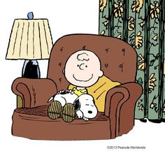 "Charlie Brown to Snoopy: ""I will always be here to take care of you."""