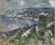 Paul Cezanne Bay Of L Estaque