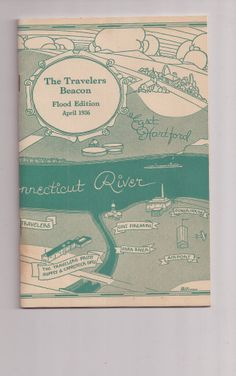 The Travelers Beacon Flood Edition April 1936 Hartford Connecticut RARE Find