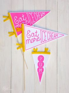 Eat More Ice Cream D