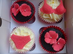 red and black boudoir bridal shower - Google Search