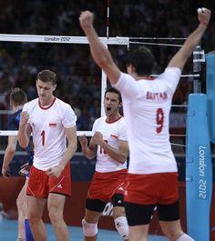 Men's Group A: Italy vs. Poland  2012 Olympics