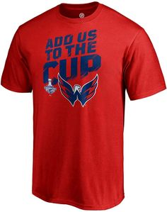 Men s Washington Capitals 2018 Stanley Cup Champions Stick It Tee  Capitals  Washington men 9ab78328b