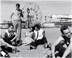 hanging out at Coney Island