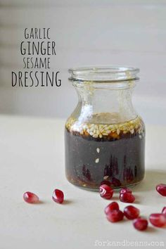 Garlic Ginger Sesame Dressing