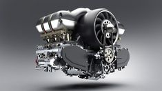 Singer Vehicle Design and Williams Advanced Engineering, restored and modified an air-cooled flat-six liters Porsche engine, to be installed on a Porsche 911 Engine, New Porsche, Porsche 964, Porsche Cars, Porsche Motorsport, Dream Cars, Singer Vehicle Design, Lamborghini, Classic Cars
