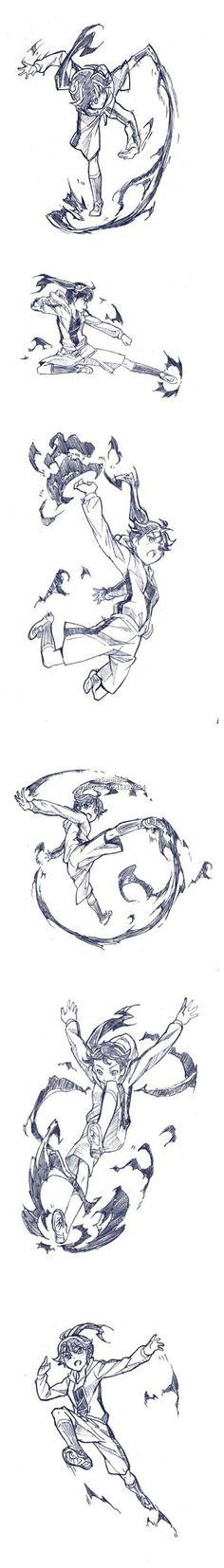 Karen Araragi Repository # animation sa ki の crescent fighting move . Animation Reference, Drawing Reference Poses, Drawing Skills, Drawing Poses, Manga Drawing, Figure Drawing, Drawing Sketches, Drawings, Character Poses