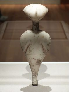 "c. 3000 BCE Early Bronze Age, Western Anatolia, so-called ""Stargazer"", Cleveland Museum of art"