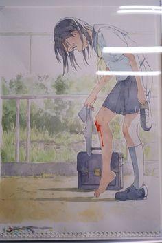 yukiko horiguchi Anime Art Girl, Manga Art, Aesthetic Art, Aesthetic Anime, Anime Triste, Cartoon Girl Drawing, Sad Art, Chica Anime Manga, Anime Poses