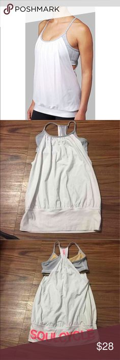 Lululemon no limits tank top Excellent condition no stains or pillings lululemon athletica Tops Tank Tops