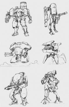 Robotshop Makes Waves In The Canadian Robotics Industry – Viral Gossip Robot Design, Game Design, Character Concept, Character Art, Robot Sketch, Robots Drawing, Arte Robot, Arte Cyberpunk, Cool Robots
