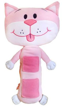 Hot New Release! Seat Pets Pink Cat Car Seat Toy - http://toys.belokitech.com/seat-pets-pink-cat-car-seat-toy/