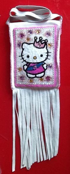 Kitty pouch, by erin davis