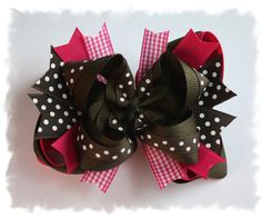Hair bows for little girls