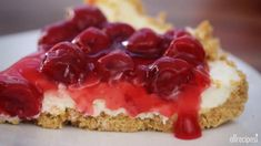 The Best Unbaked Cherry Cheesecake Ever Video - Allrecipes.com
