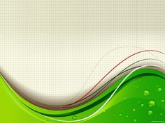 Green Wave With Beautiful Background Abstract Design PPT Backgrounds