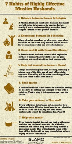 7 habits of highly effective muslim husbands
