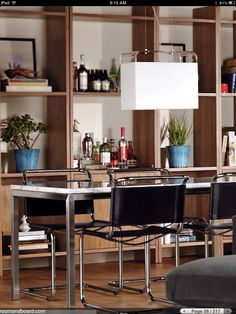 Great dining room shelves / storage