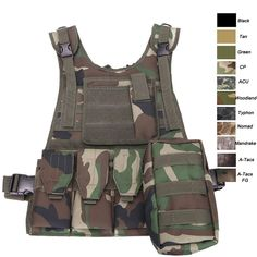 Plate Carrier Vest, Tactical vest, molle vest, combat vest,camouflage military vest, assault vest, body armor, Assault Waistcoat, Tactical waistcoat-Product Center-Sunnysoutdoor Co., LTD-