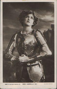 Juana de Arco- Gabrielle Ray (1883-1973)