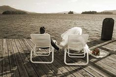Lake Wedding - have to get this photo!