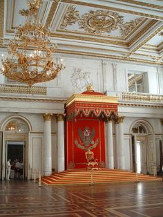 The Throne Room, Winter Palace, The Hermitage