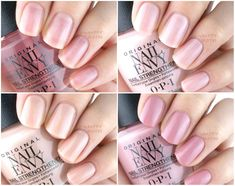 New OPI Nail Envy Nail Strengthener Strength + Color: Review and Swatches