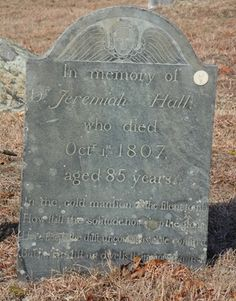 Dr. Jeremiah Hall & his wife Elizabeth Bailey Hall are featured today on Tombstone Tuesday http://www.michiganfamilytrails.com/2015/10/tombstone-tuesdaydr-jeremiah-hall-1722.html