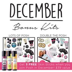 Perfectly Posh December Starter Kits