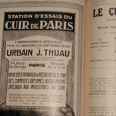 """REVUES """"LE CUIR TECHNIQUE""""  LES NUMEROS DE L'ANNE 1929 RELIES PLEINE TOILE"""