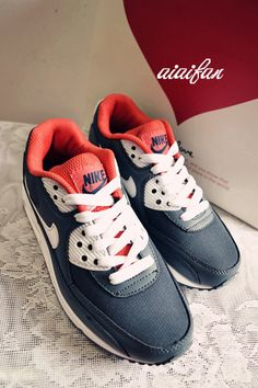 newest b0310 0996a X4n4m Hombre  Nike Air Max 90 Lobo Negro Gris Rojo Zapatos Para  Correr,Discount