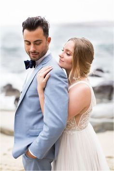 Gorgeous wedding photo from Rebekah Meredith photography. I love this pose. La Jolla Cove, Wedding Photo Inspiration, Bhldn, Bridal Gowns, Wedding Photos, Wedding Photography, Poses, Couple Photos, Beauty