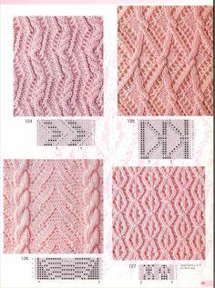 Verena № 2 2002 Спец выпуск УЗОРЫ — Yandex.Disk - - Verena № 2 2002 Спец выпуск УЗОРЫ — Yandex. Lace Knitting Patterns, Knitting Stiches, Cable Knitting, Knitting Charts, Lace Patterns, Knitting Designs, Hand Knitting, Stitch Patterns, Crochet Stitches