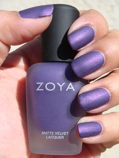 Just painted my nails this color (Zoya Savita). It's one of my new favorites! Great polish for winter this year.