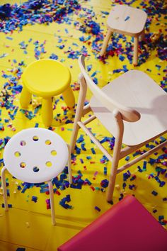 YNGVAR Eetkamerstoel, rood IKEA