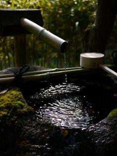 Tsukubai Shisen-do 詩仙堂