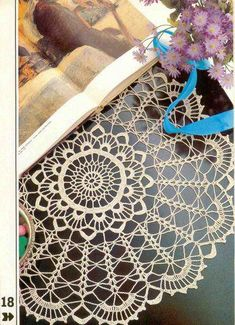 Decorative Crochet Magazines 2 - Gitte Andersen - Álbuns da web do Picasa Crochet Doily Diagram, Crochet Chart, Thread Crochet, Lace Knitting, Crochet Motif, Crochet Doilies, Crochet Flowers, Crochet Stitches, Crochet Baby Boots