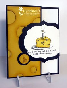 Giggle Greetings Latch Fun Fold - video too from Flowerbug's Inkspot