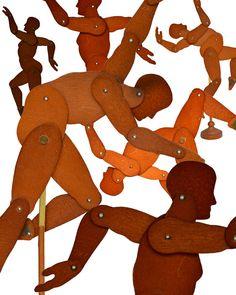 Mannequins Dance by Elizabeth Rosen