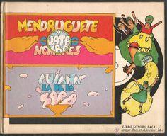LIBRO SONORO. Nº 4. MENDRUGUETE Y CUATRO NOMBRES. CON UN DISCO. EDIC. PALA 1973. (Z7) - Foto 1