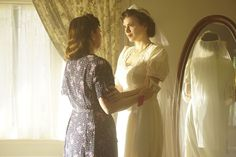Peggy and Fred's Wedding on Agent Carter