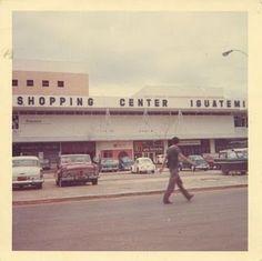 Shopping Iguatemi (lateral), São Paulo, Brazil - 1967
