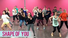 Must practice, practice!                      Ed Sheeran - Shape of You (Dance Fitness with Jessica)
