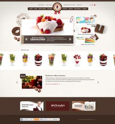 Beautiful Food Website Design Collection. = = = FREE CONSULTATION! Get similar web design service @ http://www.smallstereo.com