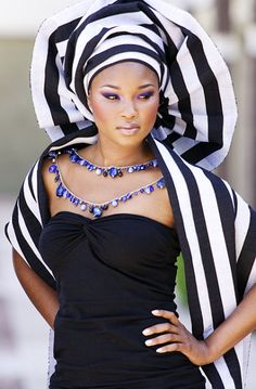 Check out More beautiful Gele Styles at http://followmego.net/category/gele/